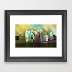 City of Color Framed Art Print