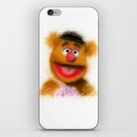 muppets iPhone & iPod Skins featuring Fozzie, The Muppets by KitschyPopShop