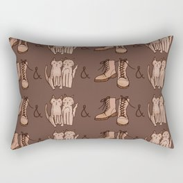 BOOTS & CATS Rectangular Pillow