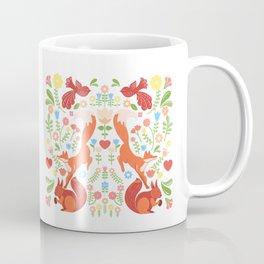 Early Fall Festive Flower Frolic Coffee Mug