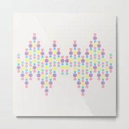 Bubble Gum Metal Print