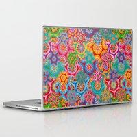 bohemian Laptop & iPad Skins featuring Bohemian by Helene Michau