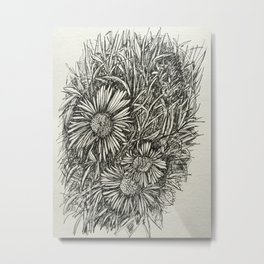 baby tiny flower Metal Print