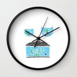 Aquarium Aquarist Fish Lover Fishkeeping  Wall Clock