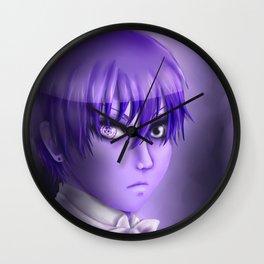 Purple Ciel Wall Clock