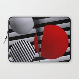 red-white-black -5- Laptop Sleeve