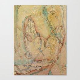 Three Hands Canvas Print