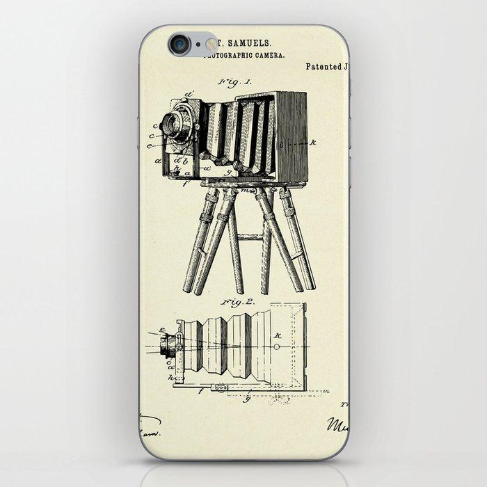Photographic Camera-1885 iPhone Skin