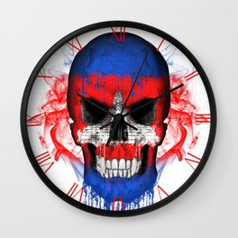 To The Core Collection: Cambodia Wall Clock