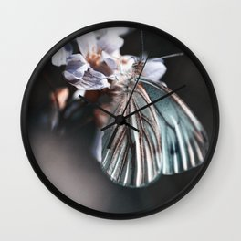 butterfly #2 Wall Clock