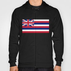 State flag of Hawaii - Authentic version Hoody