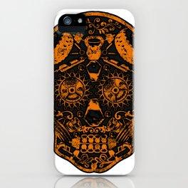Strongman Sugar Skull, Dia De Los Deadlift iPhone Case