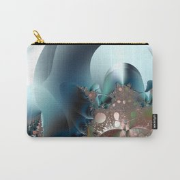 Shimmer on top of the fantasy mountain Carry-All Pouch