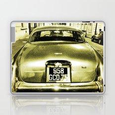 Old Jaguar on the streets of Paris Laptop & iPad Skin