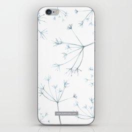 Hedgerow Seeds iPhone Skin