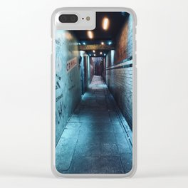 A Dealer in a Three-Piece Suit Clear iPhone Case