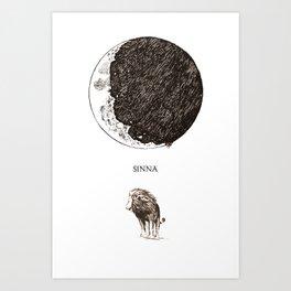 Sinna Art Print