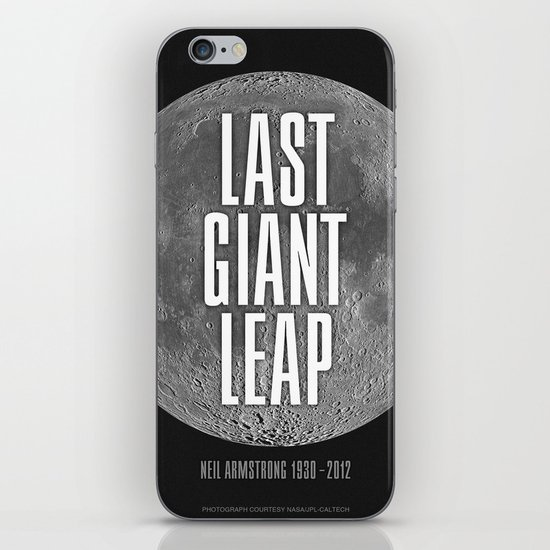 Last Giant Leap iPhone & iPod Skin