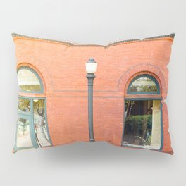 Street photography brick building afternoon I Pillow Sham
