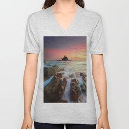 Sea Rock Unisex V-Neck