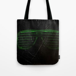 Electro Glasses Tote Bag