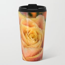 Dew Laden Rose Travel Mug
