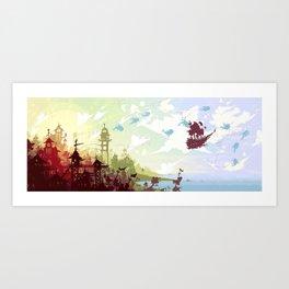 Hopes for Travel Art Print