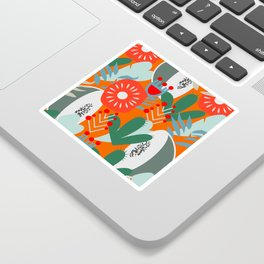Cacti, fruits and flowers Sticker