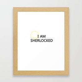 Sherlocked Framed Art Print
