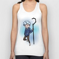 jack frost Tank Tops featuring Jack Frost by Fenlaf