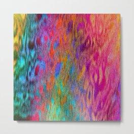 Color Cloud Metal Print