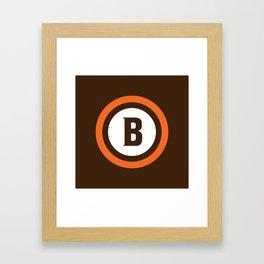 CLEFC (Italian) Framed Art Print