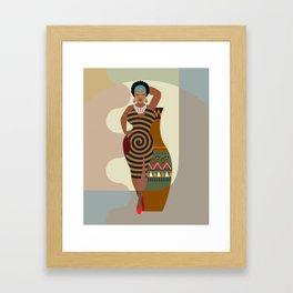 Afrocentric Chic IV Framed Art Print