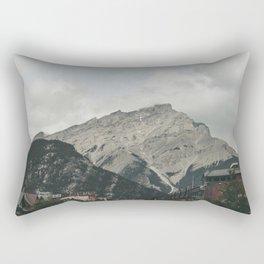 Downtown Banff Rectangular Pillow