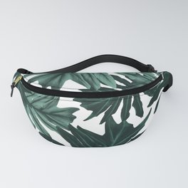 Philo Hope - Tropical Jungle Leaves Pattern #6 #tropical #decor #art #society6 Fanny Pack