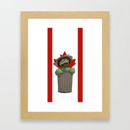 Tony the Grouch Framed Art Print