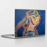 iggy Laptop & iPad Skins featuring IGGY POP  by Punkboy Marti