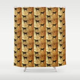 Hounds pattern Shower Curtain