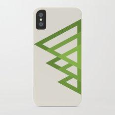 Mountains Slim Case iPhone X