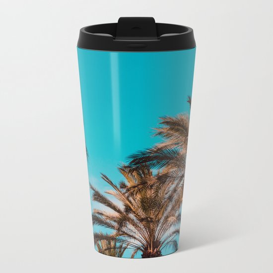 West coast, fresh coast Metal Travel Mug