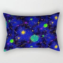 Wrinkle Planet Pattern Rectangular Pillow