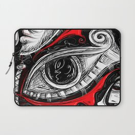 The Red tears  Prints Laptop Sleeve