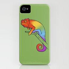 Confused chameleon iPhone (4, 4s) Slim Case