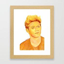 Niall Horan Painting Framed Art Print
