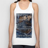 hemingway Tank Tops featuring Ernest Hemingway by Ginevra