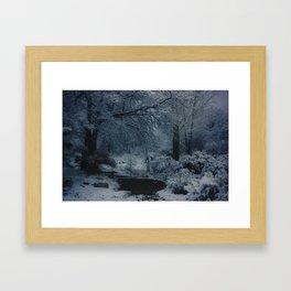 Winter Evening Framed Art Print