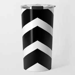 Classic Chevron Arrow Travel Mug