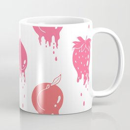 Melting Fruit pink Coffee Mug