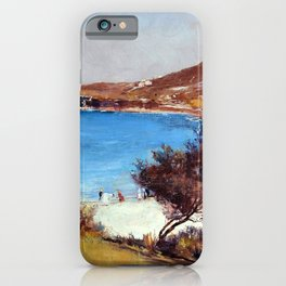 Holiday Sketch At Coogee - Tom Roberts iPhone Case