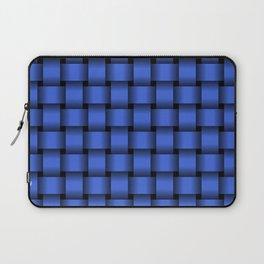 Royal Blue Weave Laptop Sleeve